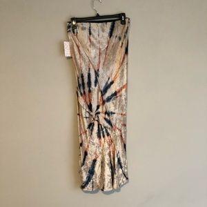 Free People Skirts - Free People Bali Tie Dye Midi Skirt